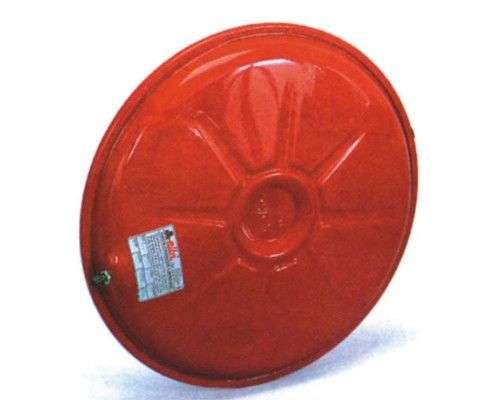 Vas expansiune circular plat pentru centrala 8 litri Ø320