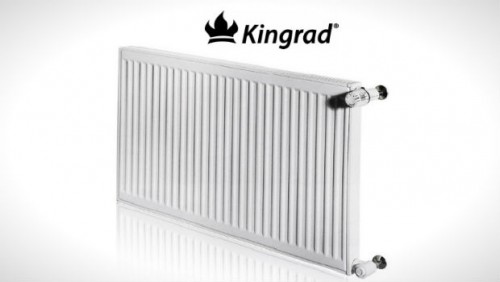 Radiator otel KINGRAD 22K 600x500