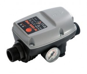 poza Presostat electronic cu manometru pentru hidrofor fara fir
