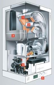 Poza Schema Centrala termice in condensatie Viessman Vitodens 100 W 35 kW